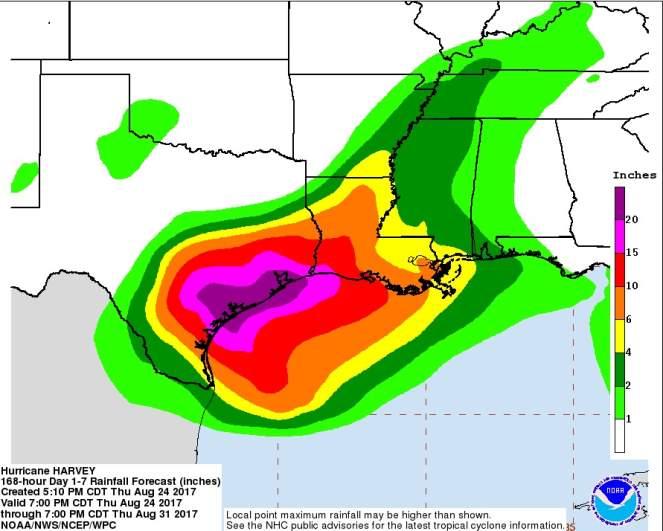 Best Roofing Company Corpus Christi Hurricane Harvey Map