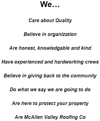 McAllen Roofing About Us